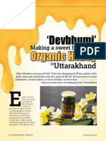 Devebhumi Organic Honey - Sandeep Rawat Article (1)