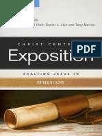 Exaltando a Jesus en Efesios - Tony Merida