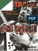 Magazine Guitarist JIMI Hendrix