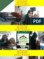 WA 0812.28.8000.45, Les Fisika Fajar Indah Surakarta