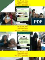 WA 0812.28.8000.45, Les Fisika SMA Fajar Indah Surakarta