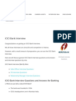 ICICI Bank Interview Questions [Best Possible Answers]