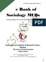 Sociology Solved MCQS