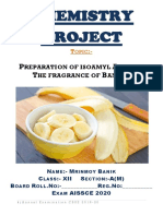 Preparation of isoamyl acetate-Banana fragrance