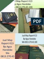 WA 0813.270.43.100, Jual Cover Raport Paud di Nias Utara Sumatra Utara