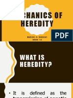 Mechanics of Heredity Uts