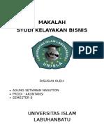 MAKALAH STUDI KELAYAKAN BISNIS.doc