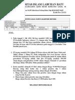 UNIVERSITAS ISLAM LABUHAN BATU.doc