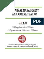 Database Booklet