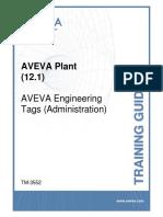 TM-3552 AVEVA Plant (12 1) Tags (Admin)