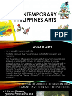 Contemporary Philippines Arts Ppt