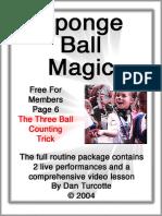 101 Three Ball Counting