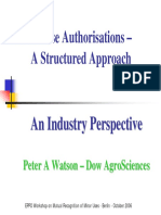 24b 04 Watson Minor Use Authorisations a Structured Approach
