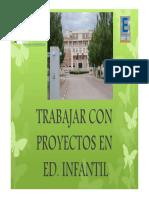 Trabajar Por Proyectos en Infantil_Ave María