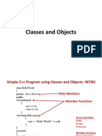 12 Classes and Objects