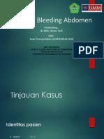 Internal Bleeding Abdomen Lapsus