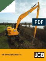 JCB JS145 Long Reach Excavator