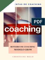 Ferrementa de Roteiro Coaching Modelo GROW