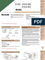 User Manual Canon IXUS 165
