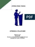 Curso de Oratória - Por Silvano Lyra