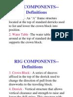 Rig Parts