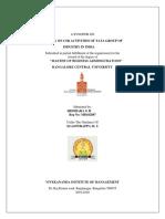 Sridhara g h Synopsis