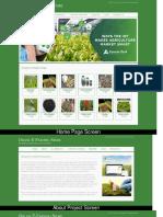 Java, JSP and MySQL Project on Online E-Farming Store Screens