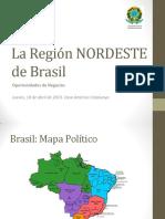 La región Nordeste de Brasil