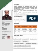 Atif Muhammad CV