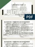 History of Architecture - MODULE 1.1 RENAISSANCE