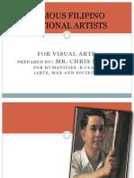 Filipino National Artists for Visual Arts
