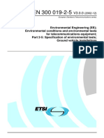 Environmental Conditions and Environmental Tests-Guideline
