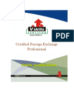 Vs-1001 Certified Foreign Exchange Professional Brochure