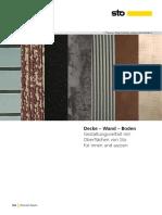 Decke Wand Boden 2018