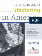 The Myth and the Reality of Manufacturing in America