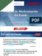 Proceso de Modernización del Estado Peruano