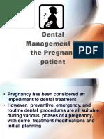 Management of Pregnant Patient