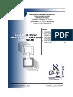 INTENSIVO Guia de Estudio 1 (Geometria en El Espacio Euclidiano y Funciones de Varias Variables)