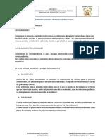 1. Estructuras especificaciones