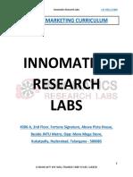 Digital Marketing Course Curriculum PDF Download Free Innomatics Research L