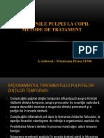 Tratament pulpita