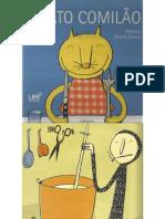 Livro o Gato Comilao