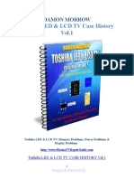 Toshiba LED LCD TV Case History Volume 1 - Damon Morrow