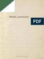 Daszyński - Polityka Proletariatu