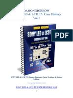 Sony LED & LCD TV Case History Volume 1 Damon Morrow