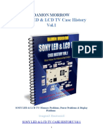 Sony LED & LCD TV Case History Volume 1 Damon Morrow
