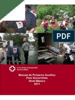 PA 420 Manual de Primeros Auxilios Para Socorristas Nivel Basico