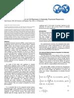 Impact of Pressure Depletion in NFR