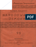 Kulczycki Ludwik - Narodowa Demokracja