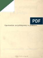 Parvus - Oportunizm Socyalistyczny w Praktyce